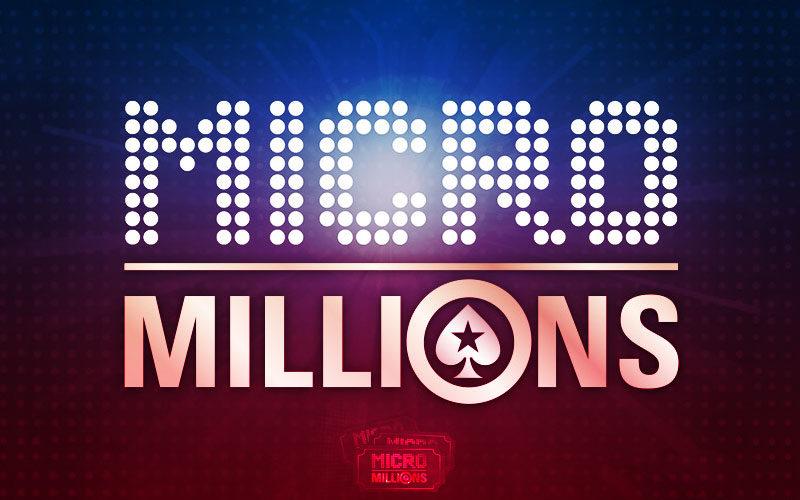 Возвращение турнирной серии MicroMillions в руме PokerStars.