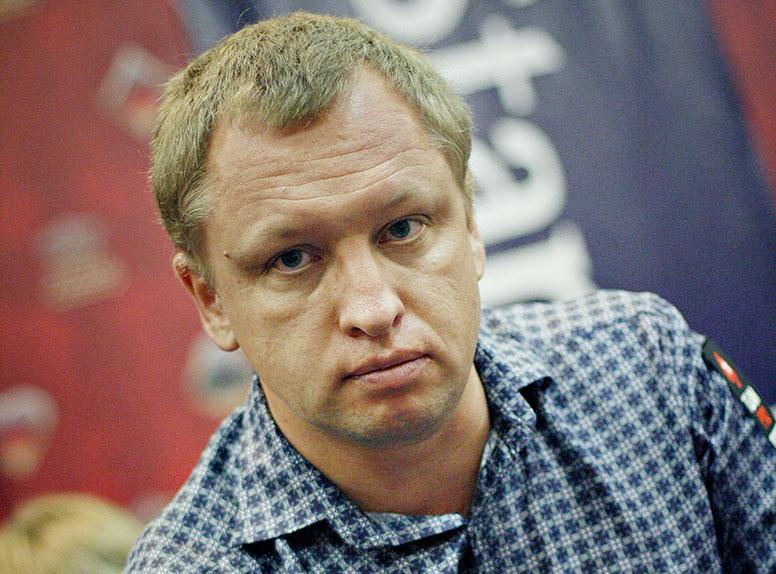 Игрок в покер Александр Кравченко.