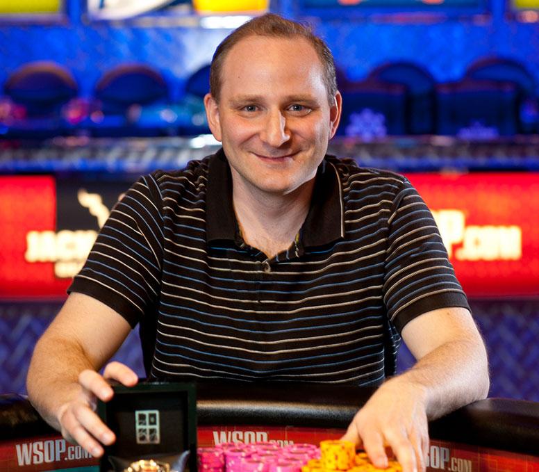 Игрок в покер Энди Блох (Andy Bloch).