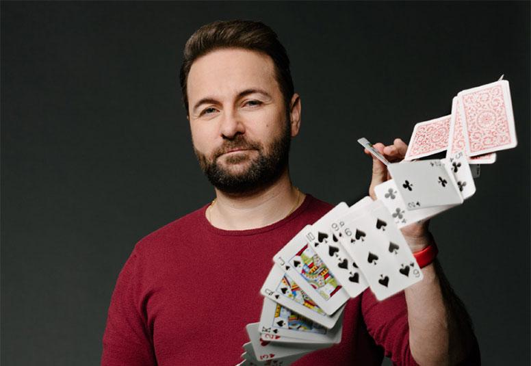 Игрок в покер Даниэль Негреану (Daniel Negreanu).