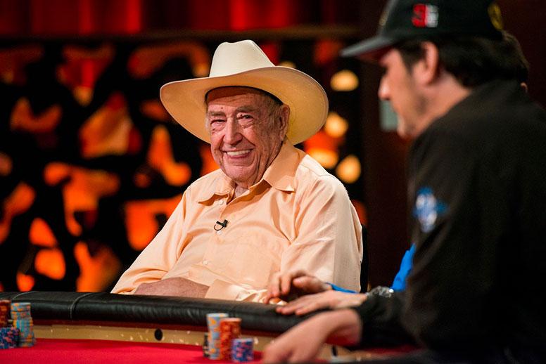 Игрок в покер Дойл Брансон (Doyle Brunson).