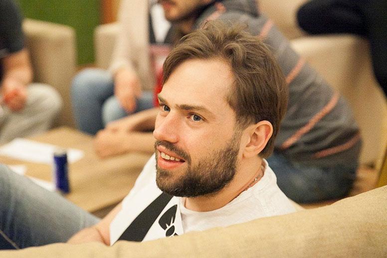 Игрок в покер Иван Демидов.
