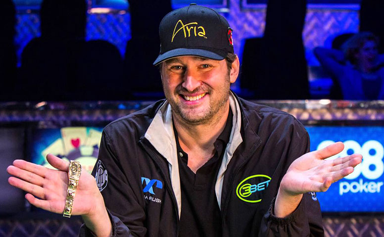 Игрок в покер Филлип Хельмут (Phil Hellmuth).
