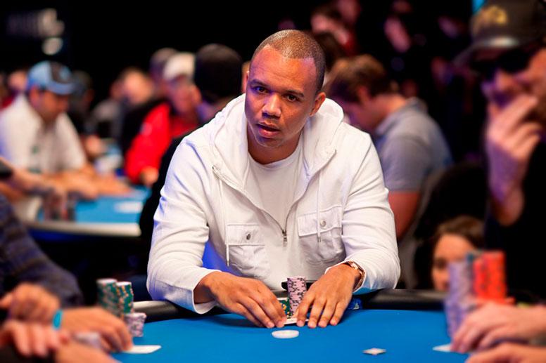 Игрок в покер Фил Айви (Phil Ivey).